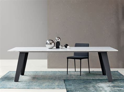 bonaldo welded marble dining table contemporary dining