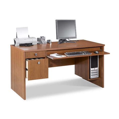 Office Desk Essentials Nexera Essentials Office Collection 30 X 60 Desk Cappuccino 731008