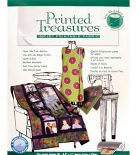 printable fabric sew on sheets printer fabric sew in sheets 50 pkg jo ann
