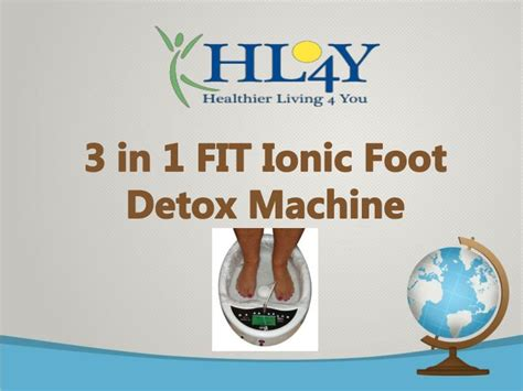 Foot Bath Detox Science by Ppt How To Get Started With Ionic Detox Foot Bath