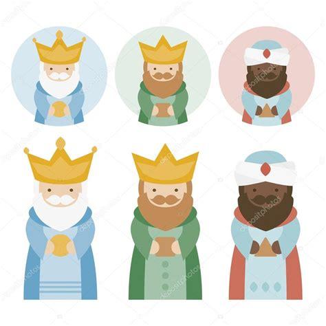 imagenes de los reyes magos kawaii los magos reyes de oriente en un fondo blanco 3 reyes