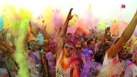 color race color me rad 5k toronto gopro canada