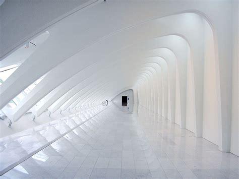 White Corridor white corridor abstract wallpaper