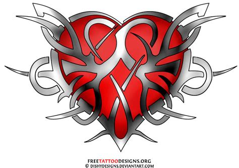 heart rose tattoo designs 55 tattoos and sacred designs