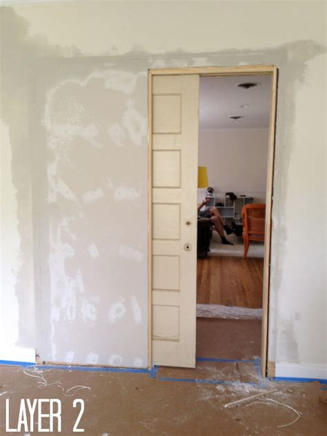 How To Make A Pocket Door how to build a pocket door c r a f t