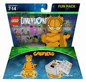 Image  Garfieldpackpng LEGO Dimensions Customs