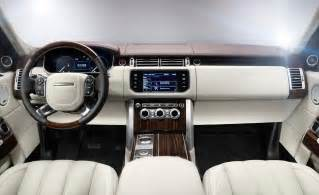 Range Rover Interior Images car and driver