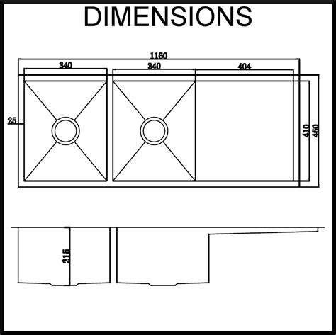 Sink Dimensions undermount kitchen sink dimensions