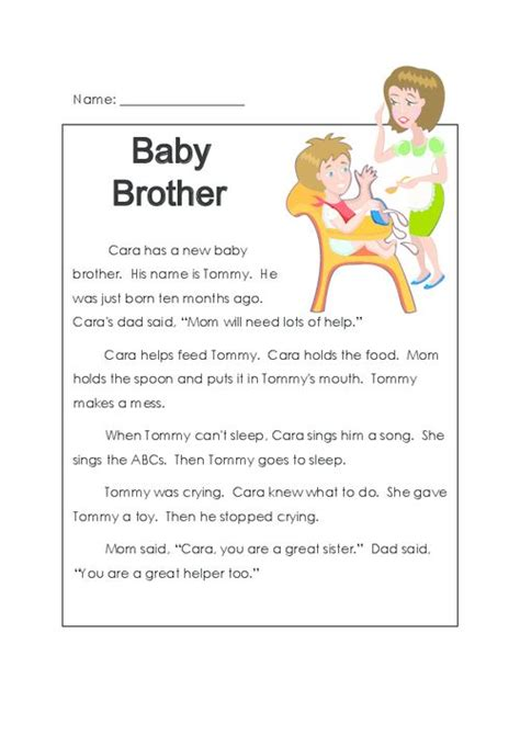 printable toddler stories 43 best images about reading comprehension worksheets on