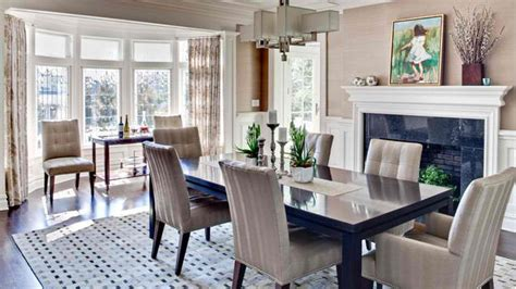 Dining Room Bay Window Decorating Ideas 15 Ideas In Designing Dining Rooms With Bay Window Home