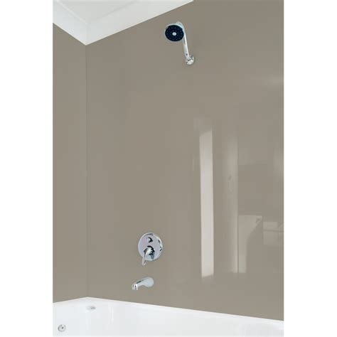 plastic sheet bathroom wall vistelle 2440 x 1000 x 4mm tawny high gloss acrylic