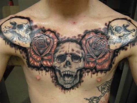 20 killer chest tattoos creativefan