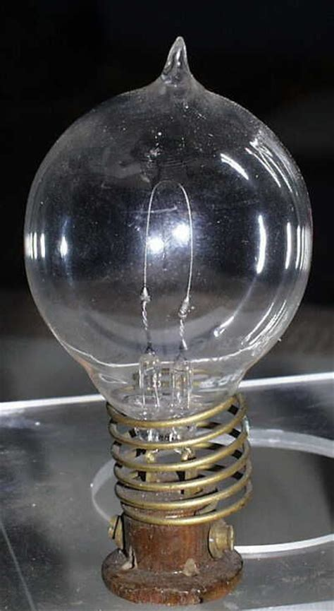 Invented The Light Bulb by Pin By On Yesteryear