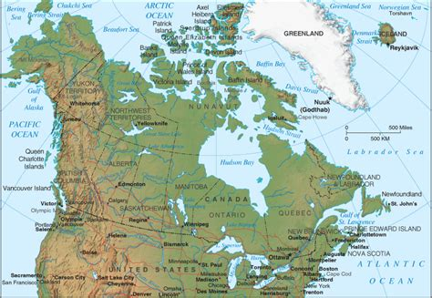canadian map rivers canada map map pictures
