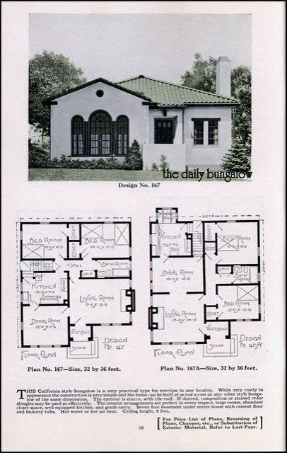 spanish bungalow house plans bungalow house plans plan service co late twenties house daily bungalow