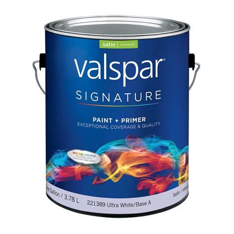 valspar paint shop valspar signature signature gallon size container