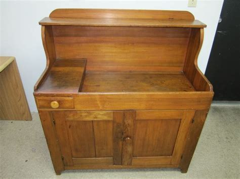 vintage dry sink cabinet antique country primitive pine dry sink cabinet