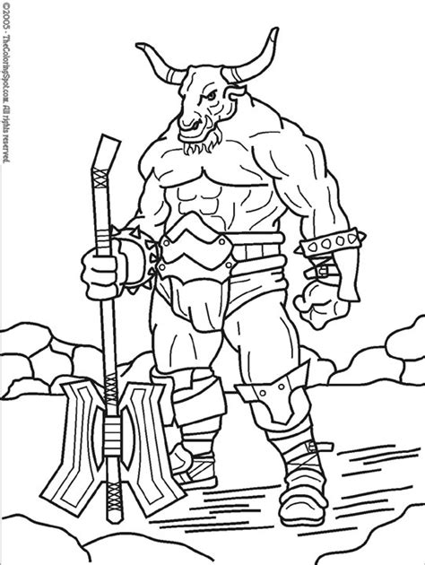 coloring pages of greek monsters mythological creatures of the middle ages mythical