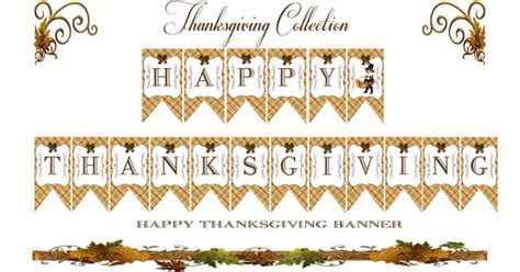 printable free thanksgiving banner 7 best images of printable thanksgiving banner fall