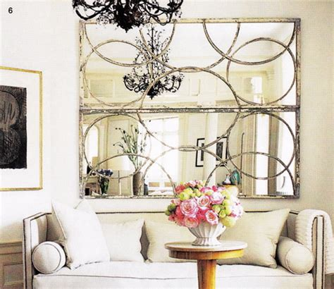 mirrors for living room decor circles mirror transitional living room