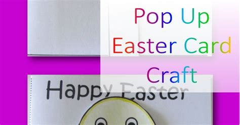 pop up easter card template free pop up easter cards are so and really easy to make