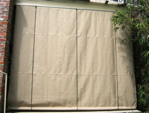 roll up awnings porch outdoor roll up shades la custom awnings