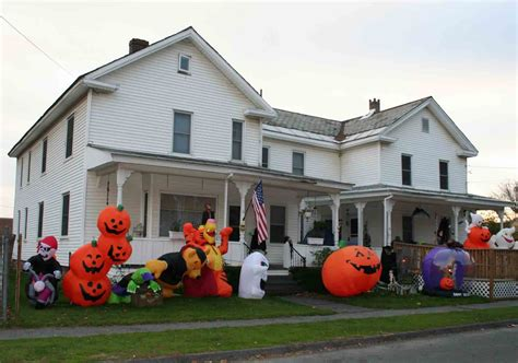 decorated houses hot fresh pics cool halloween houses