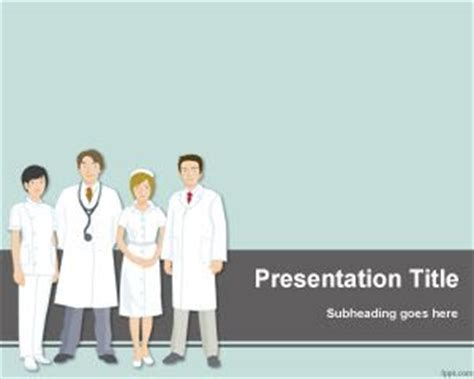 Free Healthcare Powerpoint Template Hospital Presentation Templates