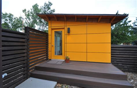 shed with bathroom client studio shed with bathroom 14x26 modern garage and shed denver by studio