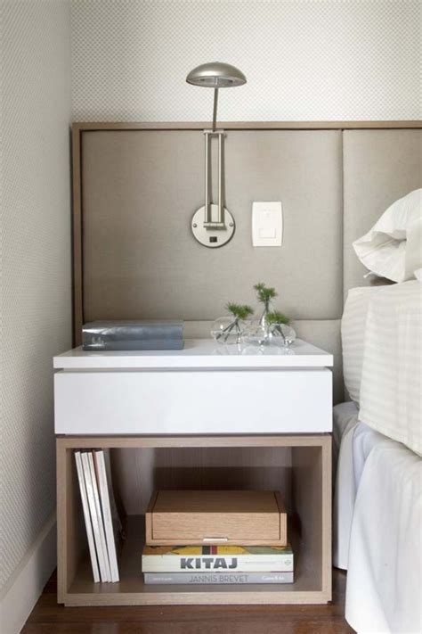 Ideas For Nightstand Height Design 25 Best Ideas About Modern Bedside Table On Pinterest Bedside Table Design White Bedside