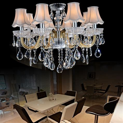 crystal dining room chandeliers contemporary chinese crystal chandeliers living room
