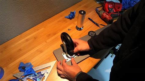 installing casters on cabinet installing casters on ulti mate cabinets youtube