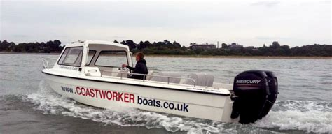 rugged boat coastworker boats fast stable rugged workboats