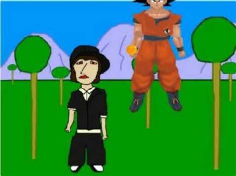 dragon ball rap porta porta animado dragon ball rap con goku youtube