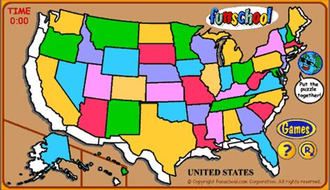 us map puzzle free united states puzzle free us geography