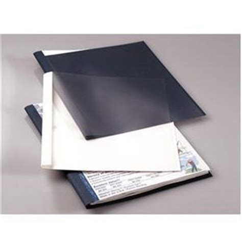 Office Max Binding Services by Fellowes New Binding Cover Thermal 1 4 Wht Office Products