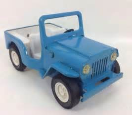 Tonka Jeep Tonka Blue Jeep Pressed Steel Ebay
