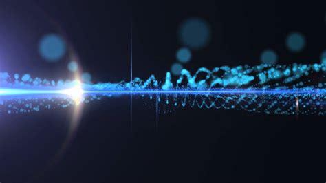 waves lights blue wave lights hd background loop