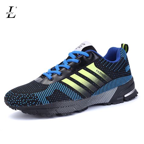 air athletic shoes new design 2017 lightweight running shoes air mesh lace up