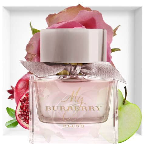 Parfum Burberry Pink green flowers images