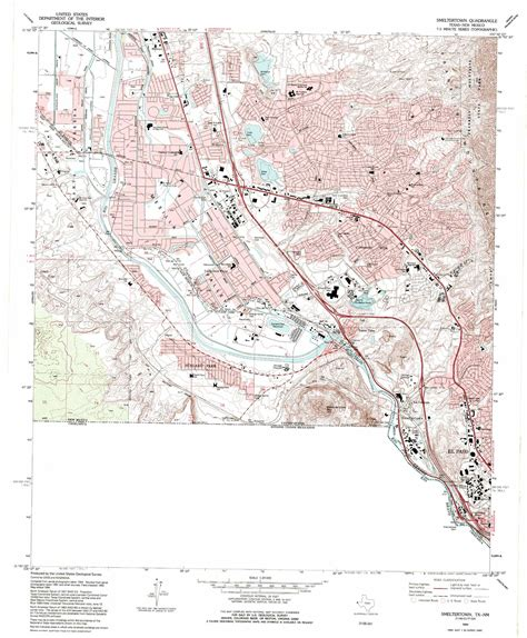 texas topographic map smeltertown topographic map tx nm usgs topo 31106g5