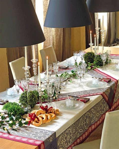 wohnideen weihnachten esszimmer gestalten festliche dekoideen f 252 r das kommende