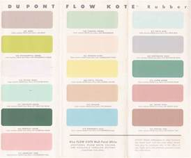 vintage colors vintage goodness 1 0 vintage decorating 1950 s paint