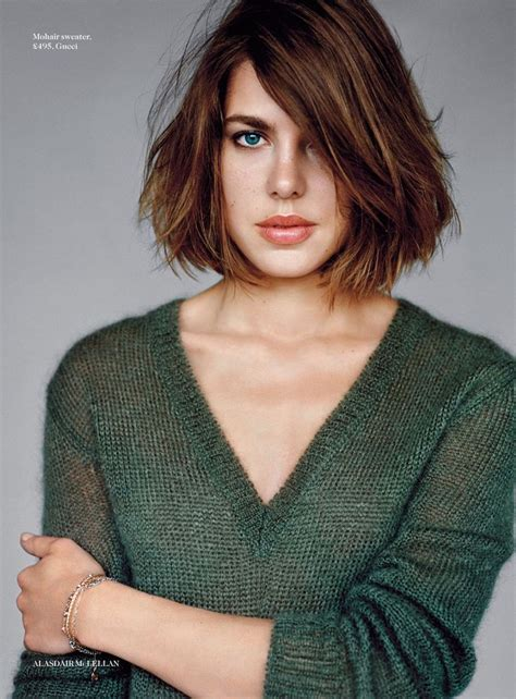 short hair specialists charlotte the sharper charlotte casiraghi by alasdair mclellan for