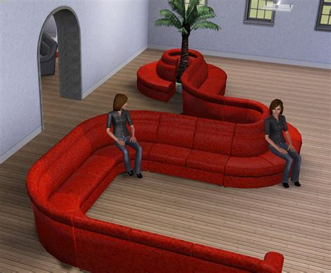 Sims 3 Sectional Sofa How To Make A Sectional Sofa On Sims 4 Okaycreations Net