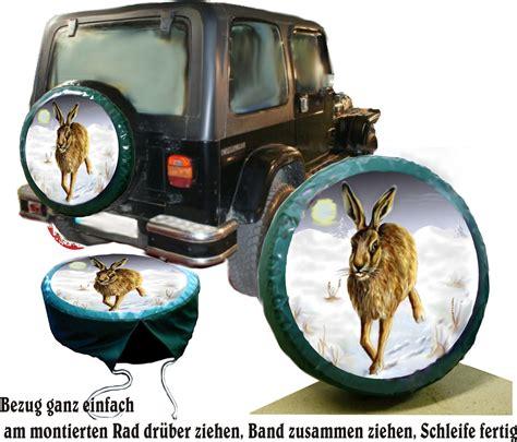 Reserverad Aufkleber Jagd by Reserveradabdeckung Mit Motiv Hase