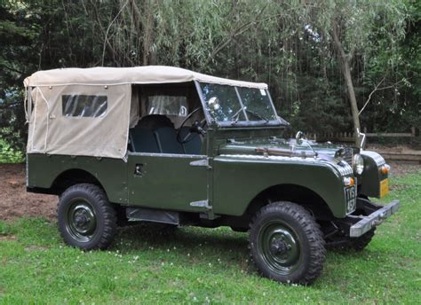 land rover series 1 restored 1954 land rover series 1 bring a trailer