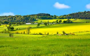 spring landscape beautiful spring landscape in scotland wallpaper hd 10974