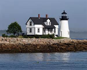 prospect harbor lighthouse maine at lighthousefriends