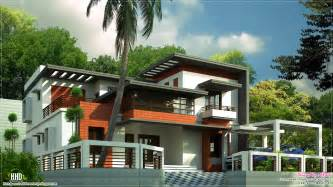 Contemporary Home Design Plans 3400 Sq Contemporary Home Design Kerala Home Design And Floor Plans